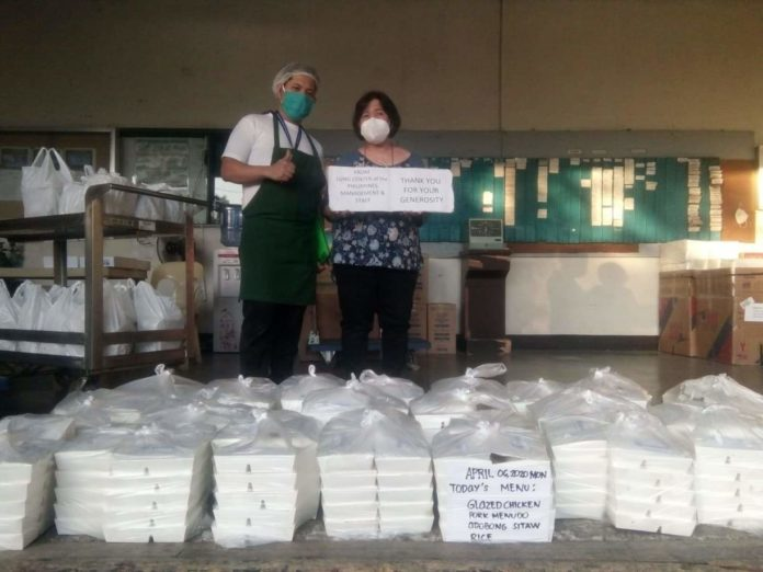 Allianz Joins in Pinoy Bayanihan, Provides Meals for Lung Center Frontliners - Microinsurance Philippines