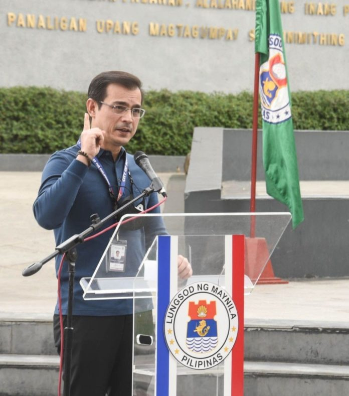 Hon. Mayor Francisco _Isko_ Moreno Domagoso