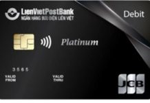 JCB Platinum Debit Card