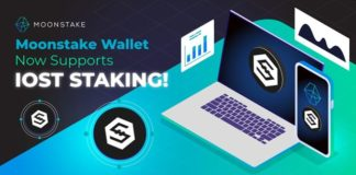 Moonstake Wallet Now Supports IOST Staking